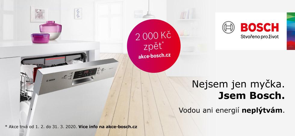 Akce Bosch - získejte až 2.000 zpět