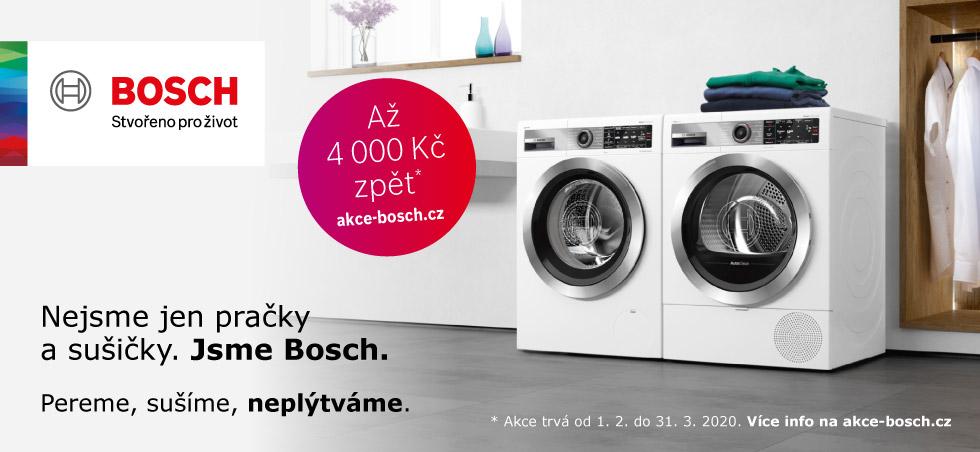 Akce Bosch - získejte až 4.000 zpět