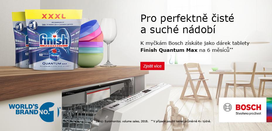 Tablety Finish Quantum Max na 6 měsíců