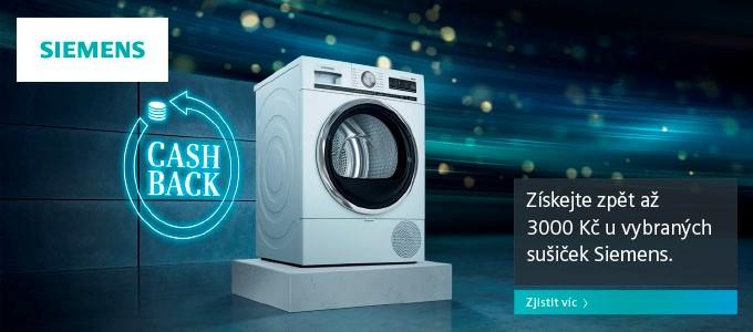 Sušičky Siemens - získáte až 3 000 Kč zpět